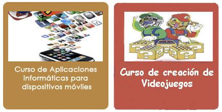 cursos de apps moviles y creacion videojuegos